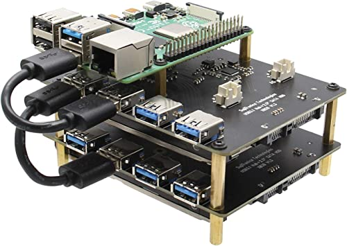 Geekworm For Raspberry Pi 4 Model B 3b Computers Accessories