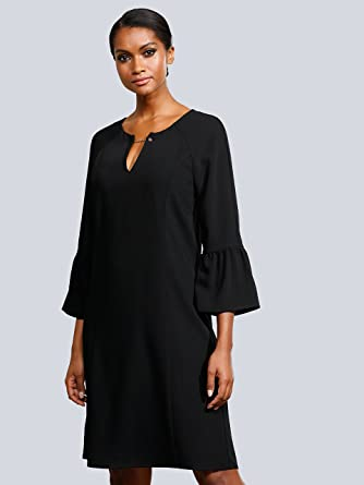 Online-Einzelhändler klassisch Bestbewertet authentisch Alba Moda Damen Kleid Schwarz: Amazon.de: Bekleidung