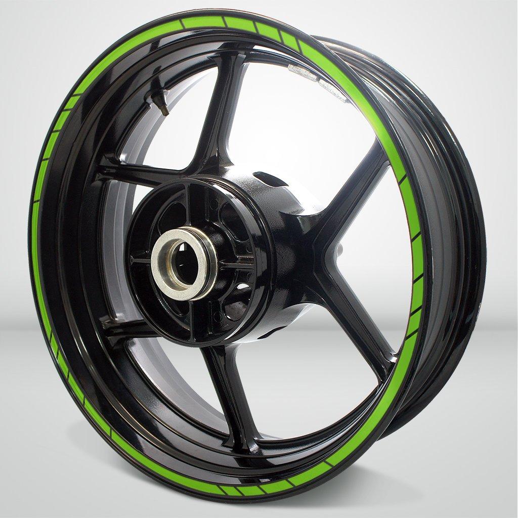 Speed Outer Rim Liner Stripe for Kawasaki Ninja 250 SL Gloss White Digital Creatives