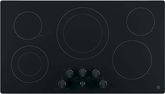 Amazon.com: GE JP3536DJBB placa de cocción elé ...