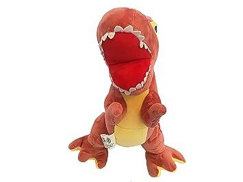 LCQI Peluche Dinosaurio Juguetes Amantes de Jurassic World Grande. (Rojo)