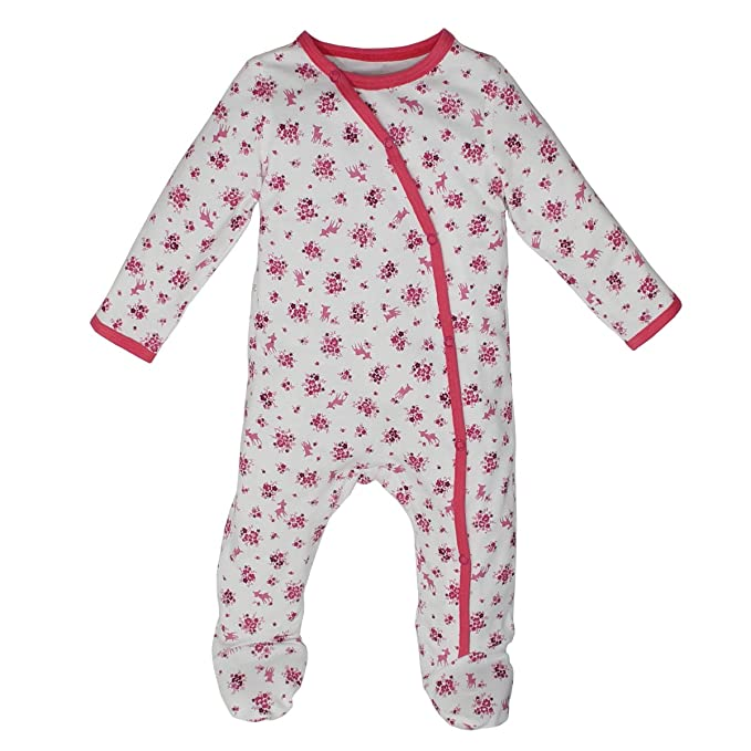 7ac0a1eae Kadambaby- Cute Bunny Babyody Suit Footed Romper Newborn Sleepsuit ...