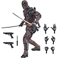 Hasbro Marvel Legends Series 6-inch Premium Deadpool Action Figure Toy from Deadpool 2 Movie and 11 Accessories (Amazon…