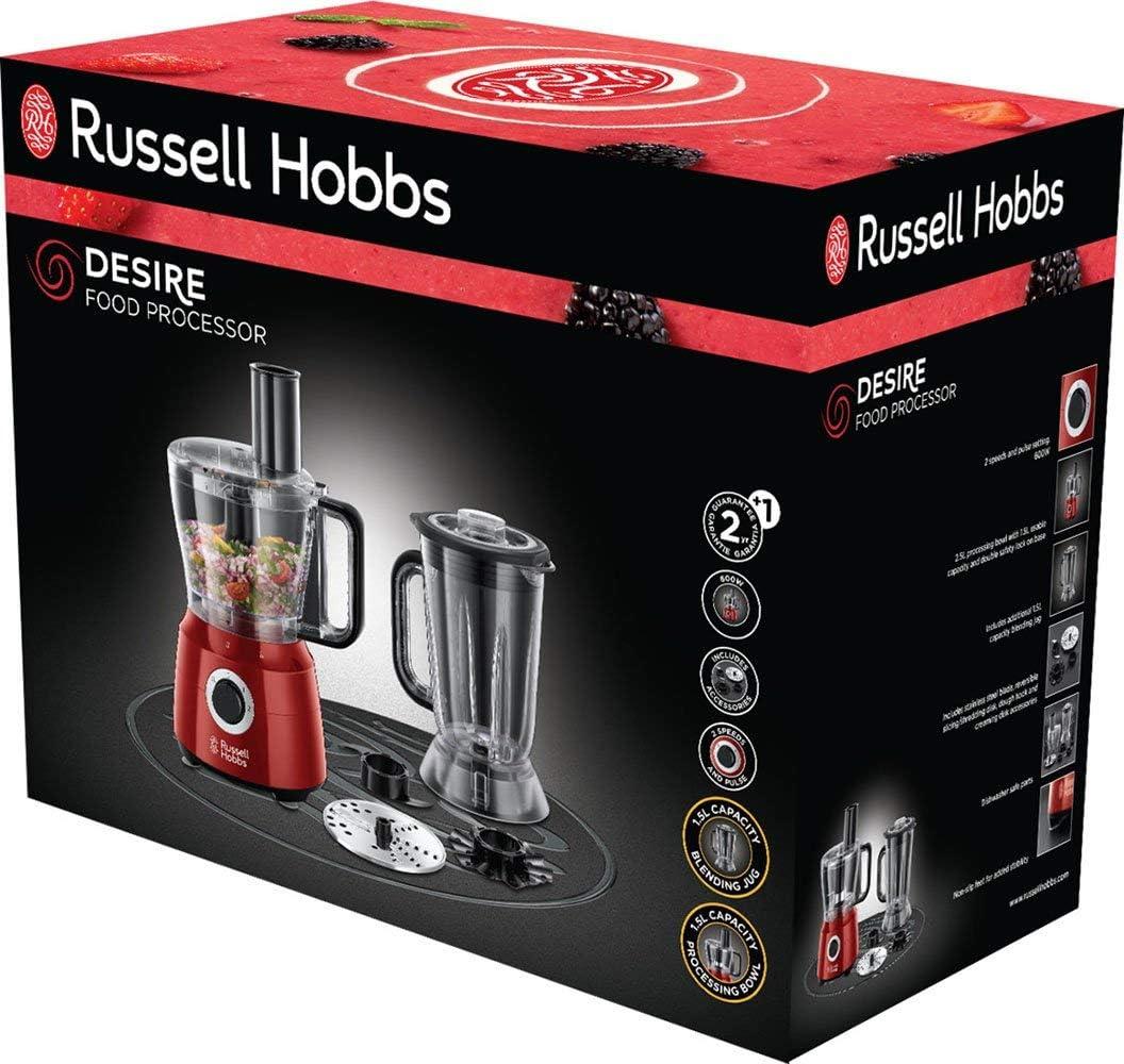Russell Hobbs Desire - Procesador de Alimentos (Licuadora ...