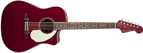Fender 0968604009 Sonoran Sce Candy Apple Red – Guitarra eléctrica con a juego con cabezal
