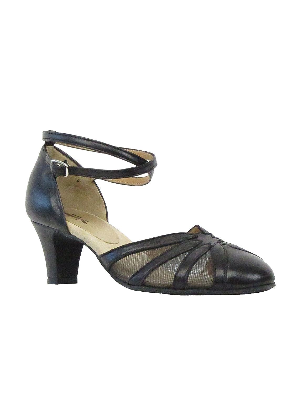Rumpf 9294 Damen Tanzschuhe Latein Salsa Rumba Tango Ballroom Ballroom Ballroom Schuhe Material Leder, Chromledersohle Absatz 5,5 cm, Made in  B01MFI3I1P Tanzschuhe Vollständige Spezifikationen 5b4825