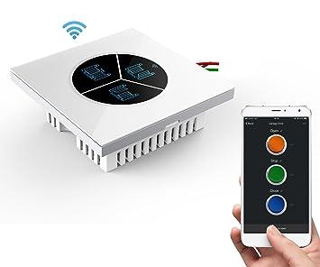 wireless garage door opener remote wifi switch universal controlled rh amazon com