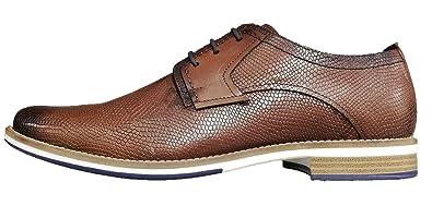 c2b200db17f8cd 360 Around The World Trendige sportliche Leder Herren-Schuhe Schnürer Halb-Schuh  Freizeit Business