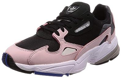 Amazon Com Adidas Falcon Womens Sneakers Black Shoes