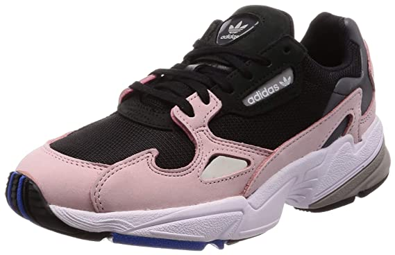 Amazon Com Adidas Women S Falcon W Core Black Core Black Lt Pink