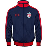 Liverpool FC - Chaqueta de entrenamiento oficial - Para niño - Estilo retro