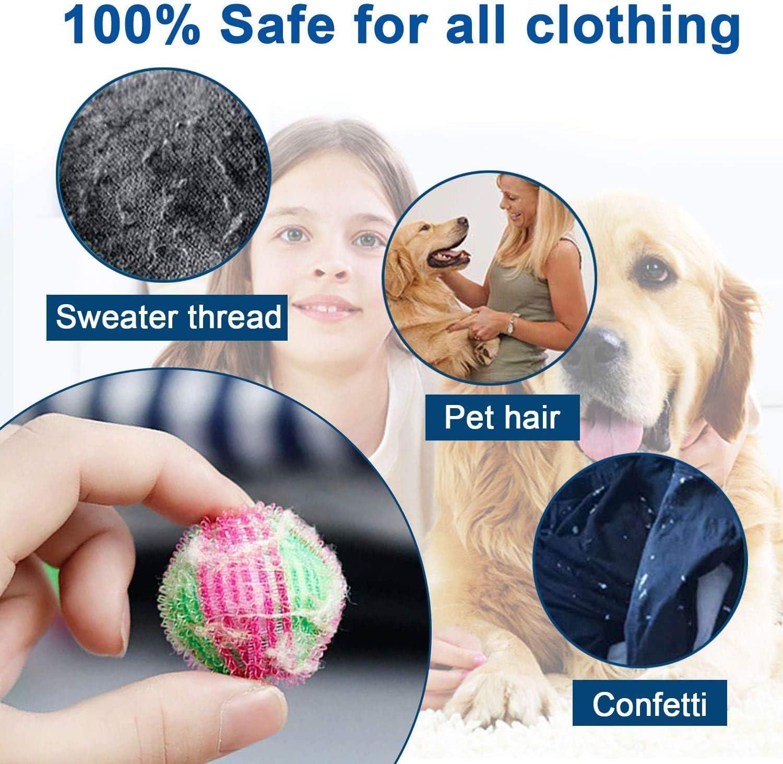 Xinmeng 22 PCS Bolas De Lavado Reduce el Tiempo de Secado Limpieza de M/ágico,para Lavadora y Secadora Mascotas Bola Limpieza,Bolas de Secadoras Reutilizables Consigue Menos Arrugas en la Ropa.