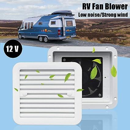 MASO Ventilador de aire de 2 vías de ventilación de 12 V con ...