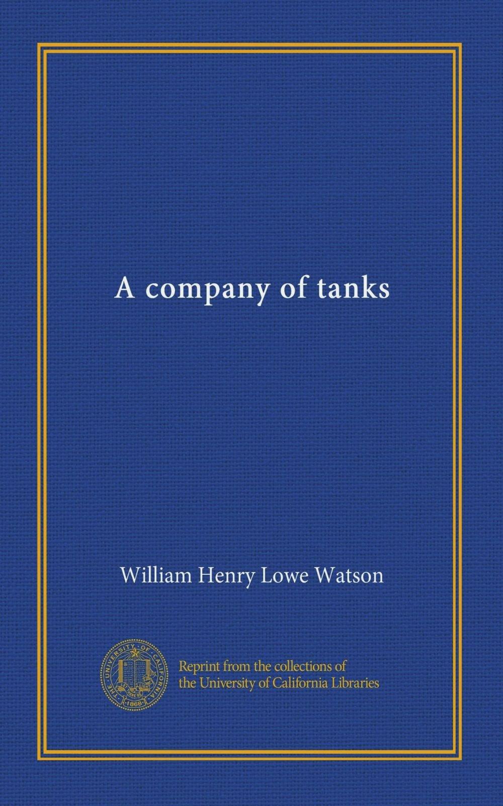 A company of tanks