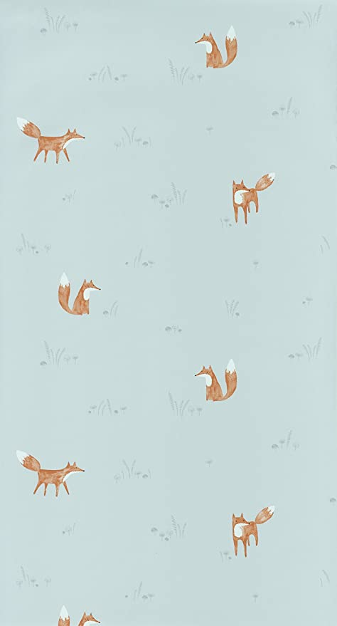 29809422 My Little World Grey Foxes Casadeco Wallpaper Amazonco