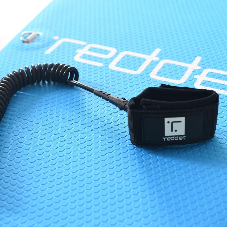 redder Leash Aufgerollt SUP Leine 10 ft 7 mm TPU-Schnur Klassische Telefonleitung f/ür Stand Up Paddle Board Adult /& Child