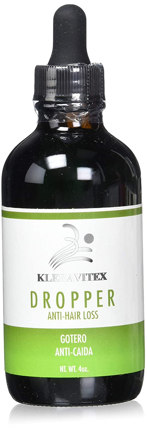 Kleravitex Anti-Hair Loss Dropper – Natural Hair Growth Serum For Thinning Hair, Baldness & Dandruff – Nourishing Hair Scalp Treatment Lotion – Rejuvenates The Follicles & Strengthens The Hair. : Beauty