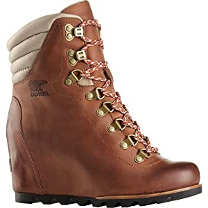 Sorel Conquest Wedge Boot - Women's Elk / British Tan 11