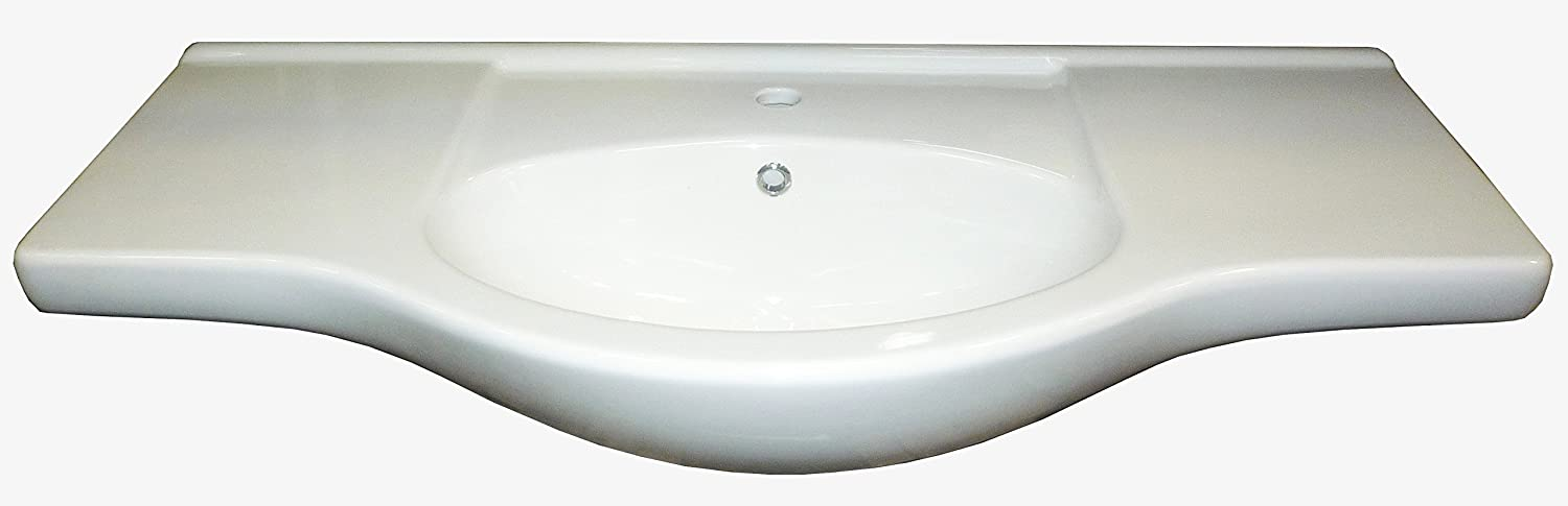 LAVABO IN CERAMICA INTEGRALE CM.105 FerMart.it