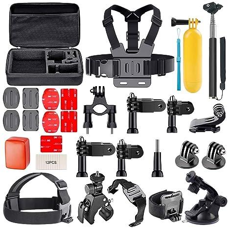 AuyKoo Kit de accesorios para GoPro Hero, cámara de acción 30 en 1 ...