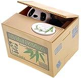 PowerTRC Cute Panda Box Stealing Coin Bank Piggy