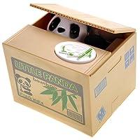PowerTRC Cute Panda Box Stealing Coin Bank Piggy Bank Saves Money Toy Gifts