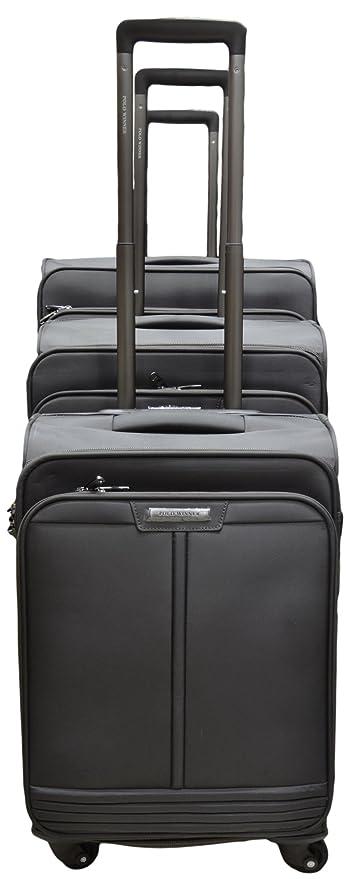 eca679c88684 Polo Winner Dark Grey Trolley Bag