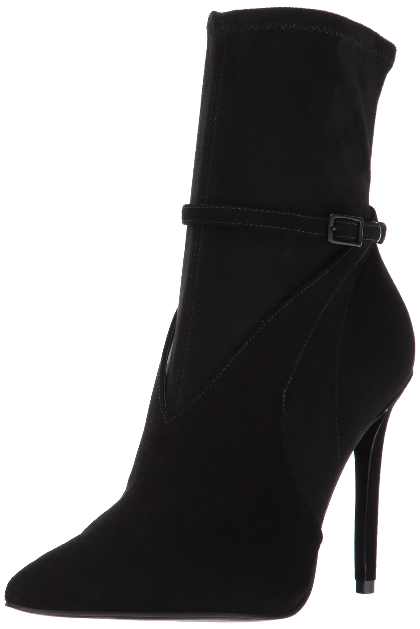 KENDALL + KYLIE Women's Autum Fashion Boot, Black/Black, 6 Medium US