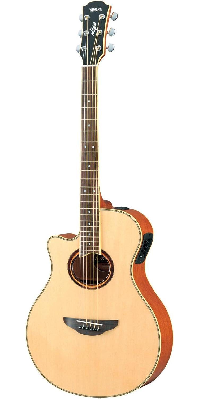 Amazon Yamaha Apx700 Acoustic Electric Guitar Natural Left
