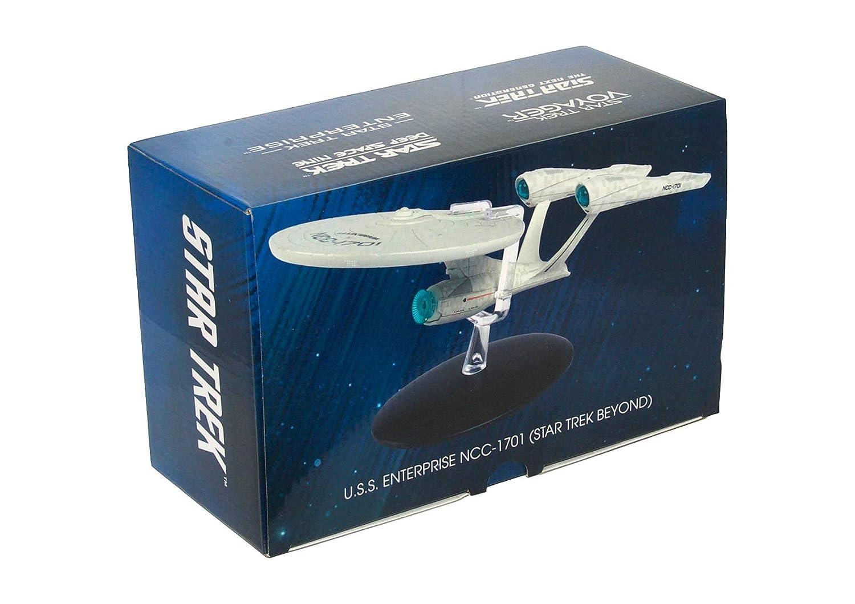 Enterprise Star Trek U.S.S Nave Spaziale NCC 1701 Speciale da Star Trek Beyond 23cm Modello DieCast EAGLEMOSS