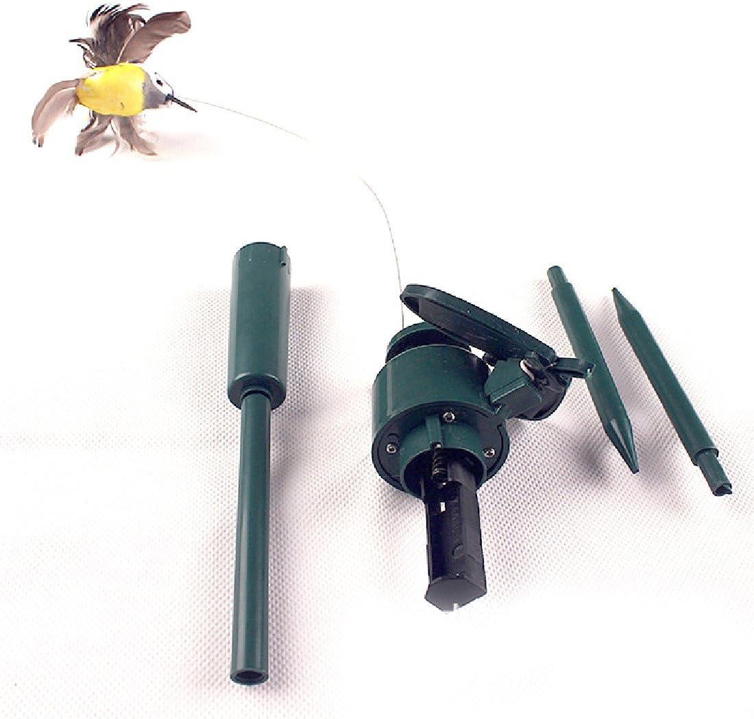 modello casuale giardino casa decorazione Bellissimo colibr/ì svolazzante alimentato a energia solare fai da te