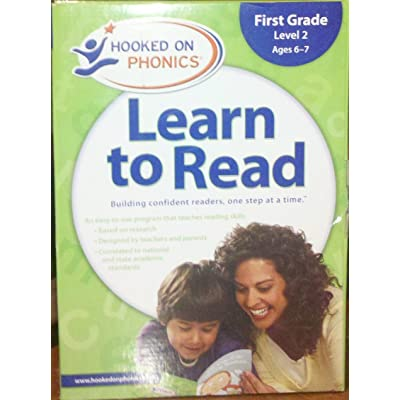 Hooked on Phonics Learn to Read- First Grade Level 2, Age 6-7: Toys & Games [5Bkhe1805132]