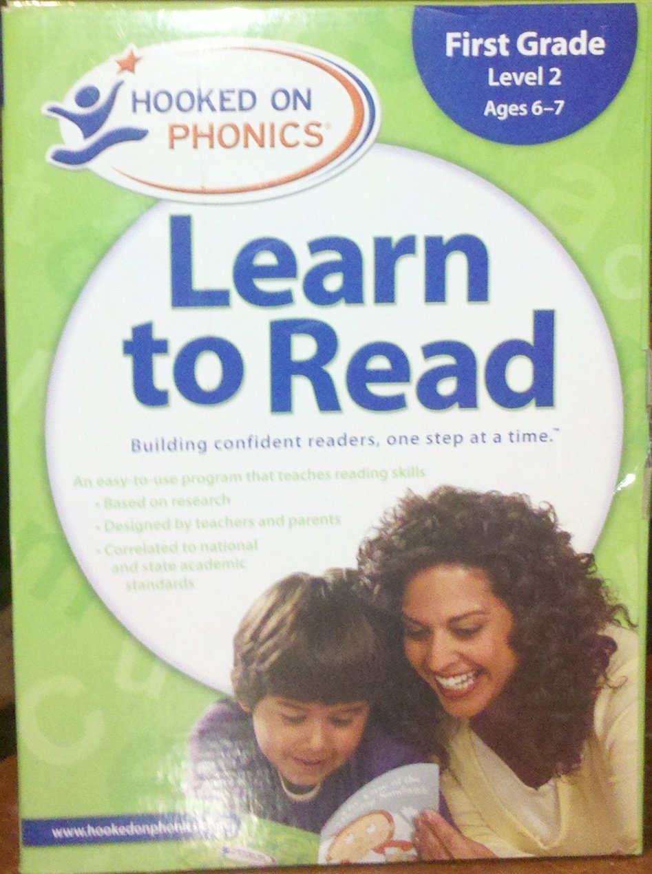 Hooked on Phonics Learn to Read- First Grade Level 2, Age 6-7