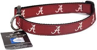 product image for Alabama Crimson Tide Ribbon Dog Collar