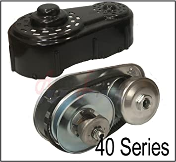 For Go Kart Torque Converter Kit 40 Series Clutch Pulley Driver Driven 8 to16HP