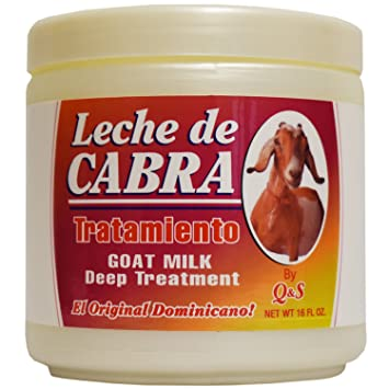 MBP Q & S Leche De Cabra Goat Milk Deep Treatment 16oz
