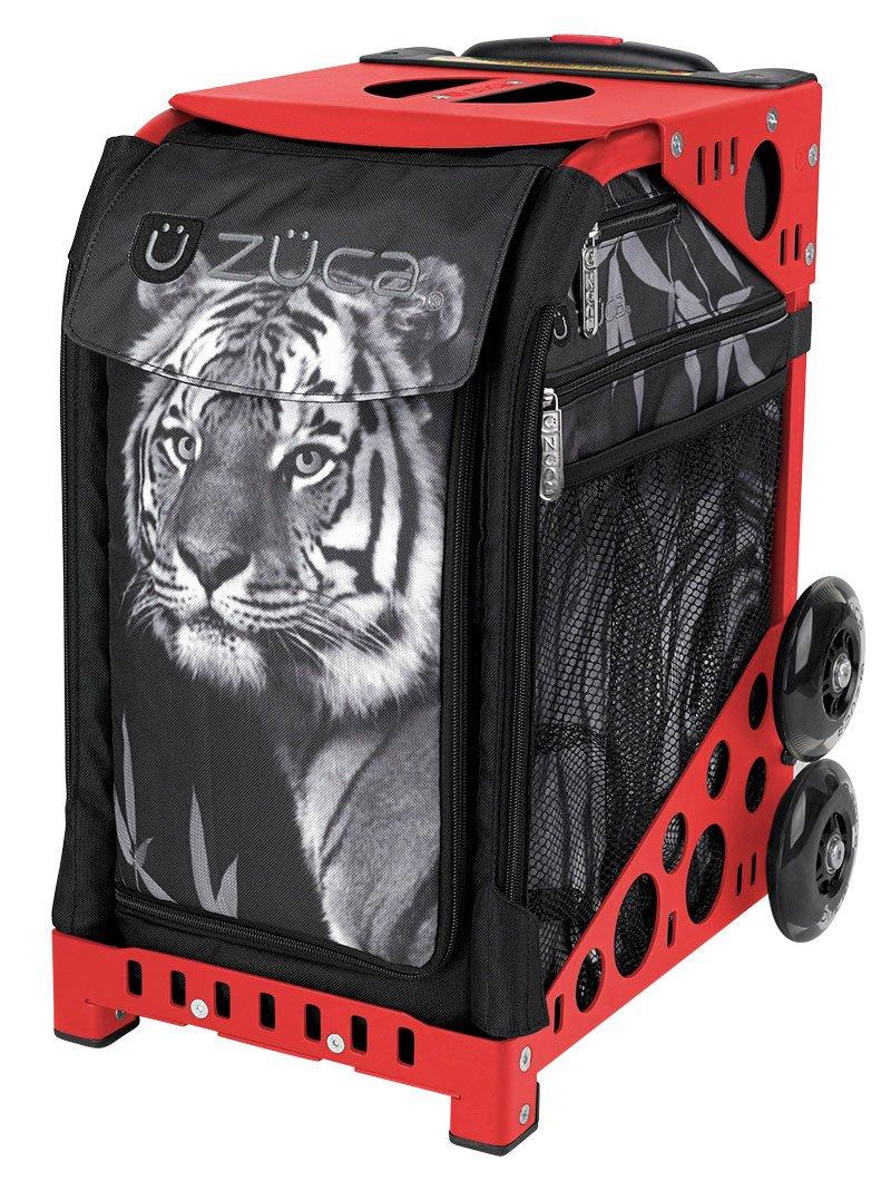 ZUCA Bag Tiger Insert & Red Frame w/ Flashing Wheels by ZUCA