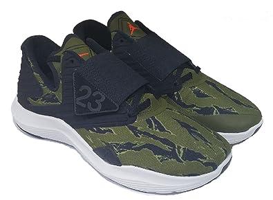 87ecdb2726f Nike Jordan Relentless Mens Basketball-Shoes AJ7990-301 9 - Olive  Canvas Infrared 23
