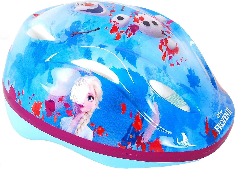 Disney Frozen II – Casco de Bicicleta para niños, diseño de Frozen 51-55 cm größenverstellbar