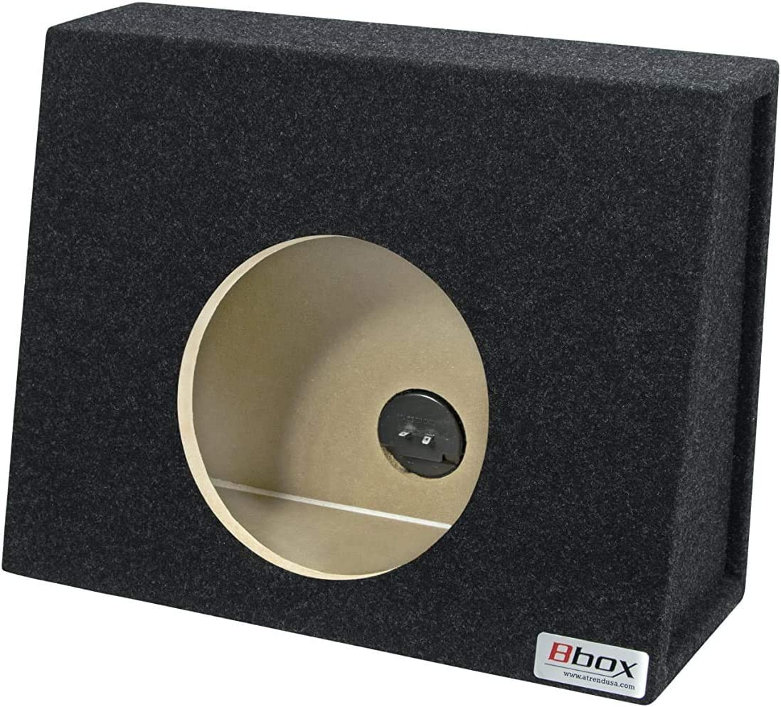 "Bbox E12ST Pro-Series 12"" Single Sealed Wedge Shaped Subwoofer Enclosure: Car Electronics"