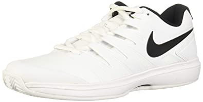 the best attitude cff31 69cd3 Nike Air Zoom Prestige Cly, Sneakers Basses Homme, Blanc (White/Black 001