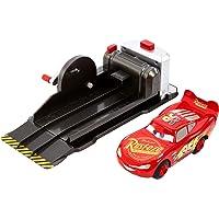 Cars 3 Rayo Mcqueen Superpiruetas, Lanzador y Coche de Juguete, Norme Mattel FRV84