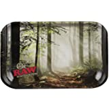 "Raw Rolling Tray - Forest Design -Mini/ 7""x5"""