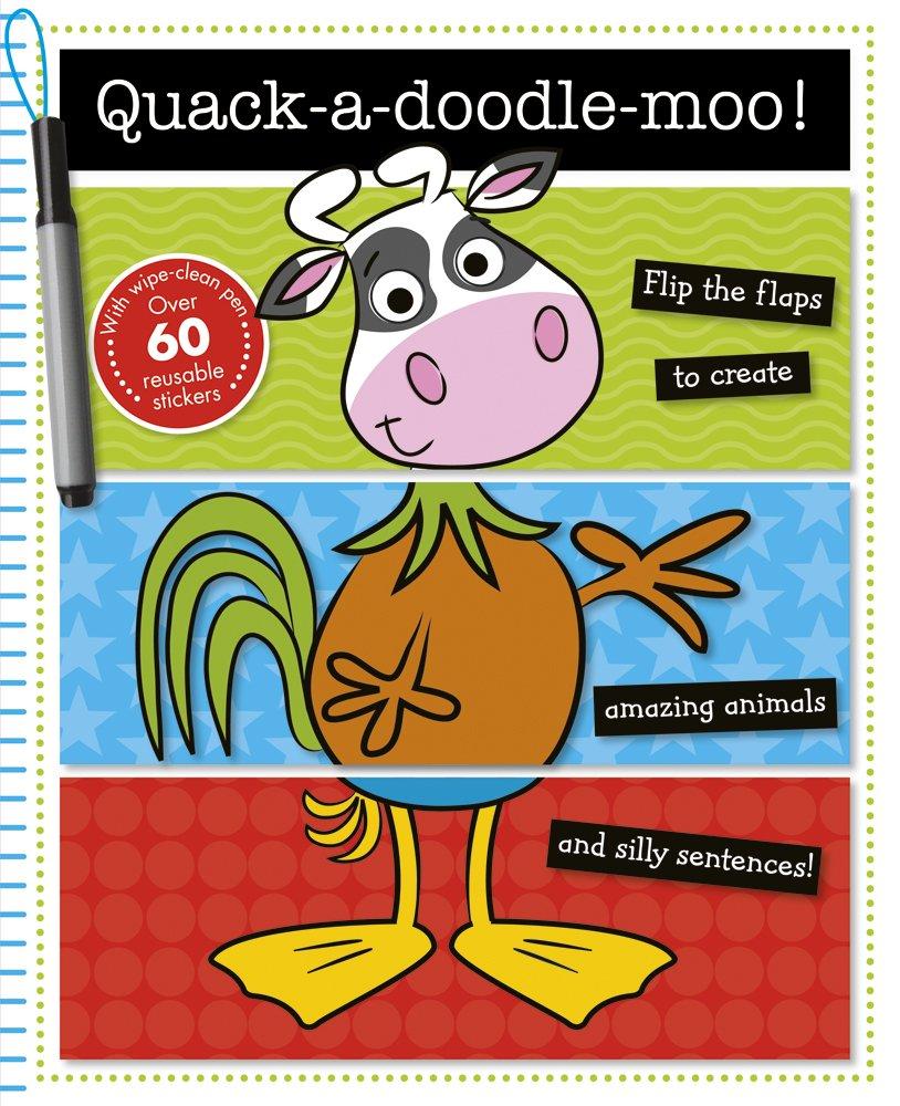 Quack-a-Doodle-Moo! (Mix & Match Books) PDF