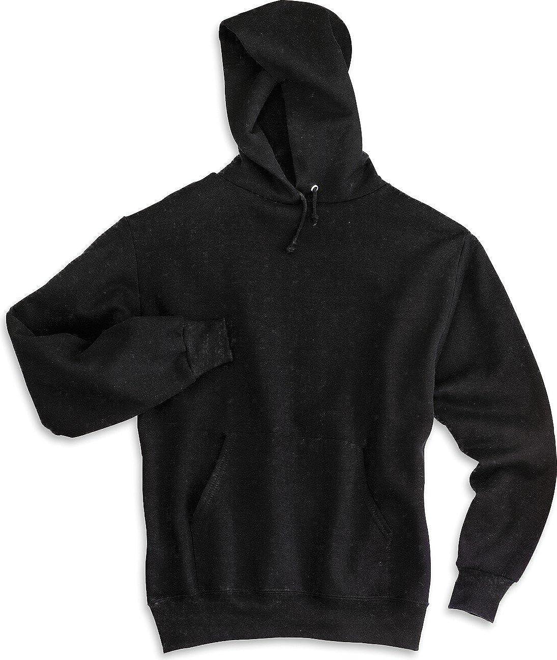 Jerzees 8 oz Black NuBlend 50//50 Pullover Hood Large
