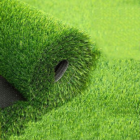 GHHZZQ Césped Sintético Alfombra Interior y Exterior for Jardín Terraza Césped de Verde con Agujeros de Drenaje (Color : 2.0cm, Size : 2x11m): Amazon.es: Hogar
