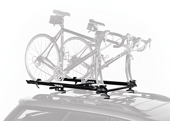 Amazon Com Thule 515 Prologue Fork Mount Rooftop Bike Carrier 2