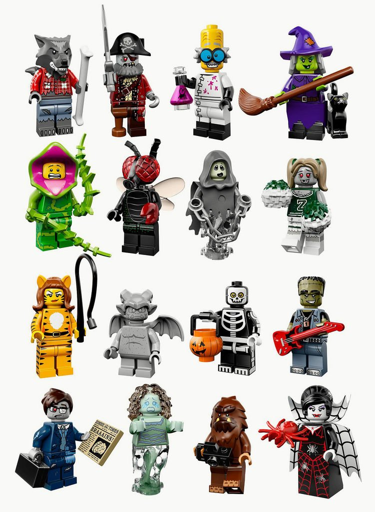 (Lego Series 14 Full Set 16 16 16 Figures) - Lego Series 14 Minifigures 71010 (Lego Series 14 Full Set 16 Figures) efdc97