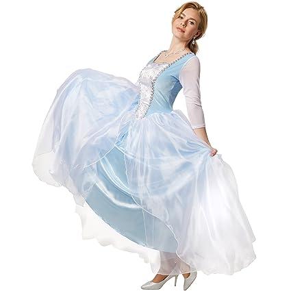 dressforfun Disfraz de princesa Cenicienta | Vestido de fiesta ...