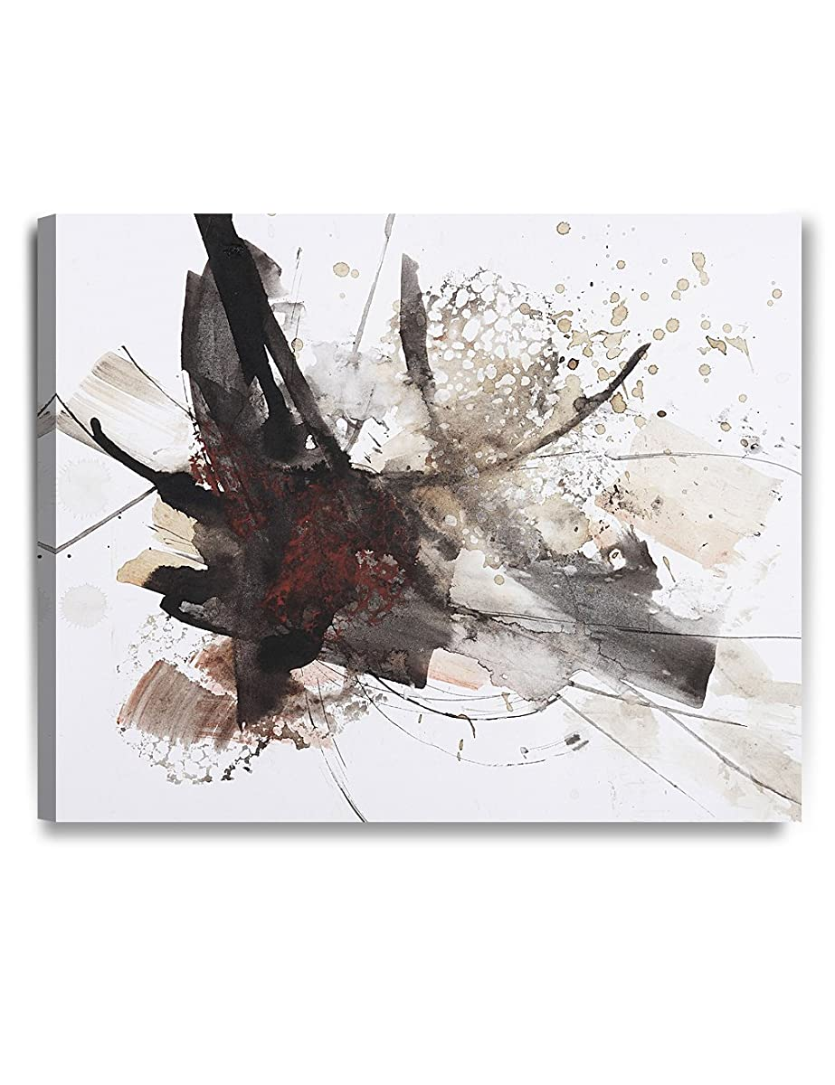 "DECORARTS Abstract Brush Painting, Giclee Prints Modern Artwork Printed on 100% Cotton Canvas for Home Decor and Wall Decor, 30"" L x 24"" W x 1.5"" H"